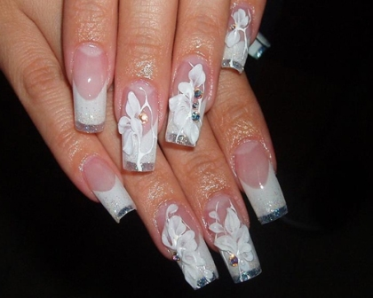 дизайн ногтей для невесты: